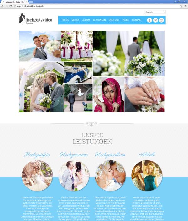Hochzeitsvideo Studio