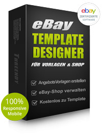Ebay Shop Design Professionell Mobile 2017 Template Mit