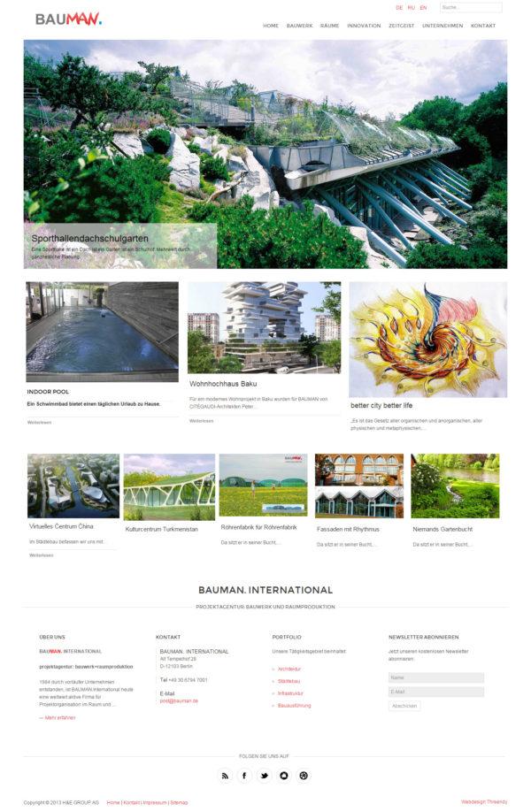 Bauman Architektur
