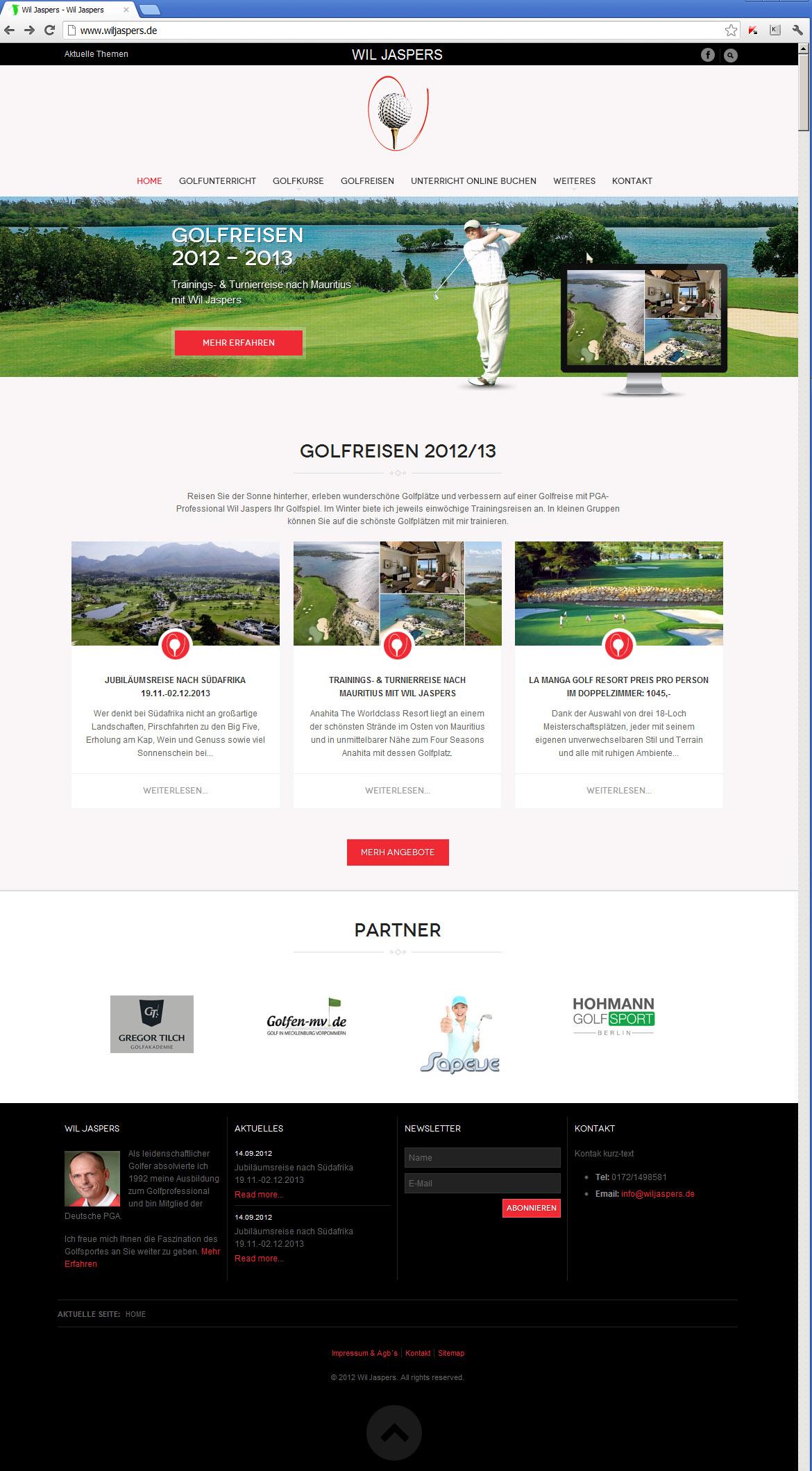 Golfschule Europa