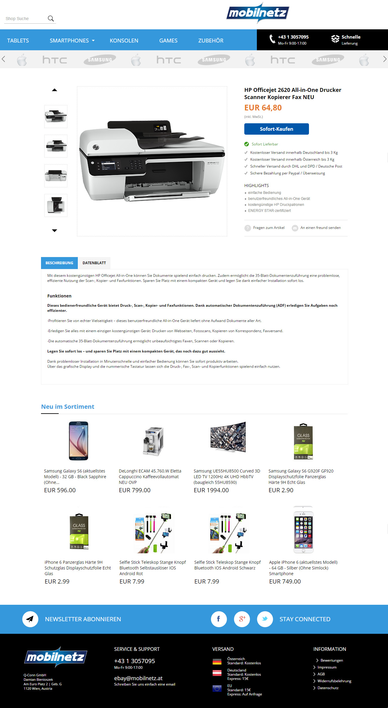 mobilnetz-ebay-shop-design