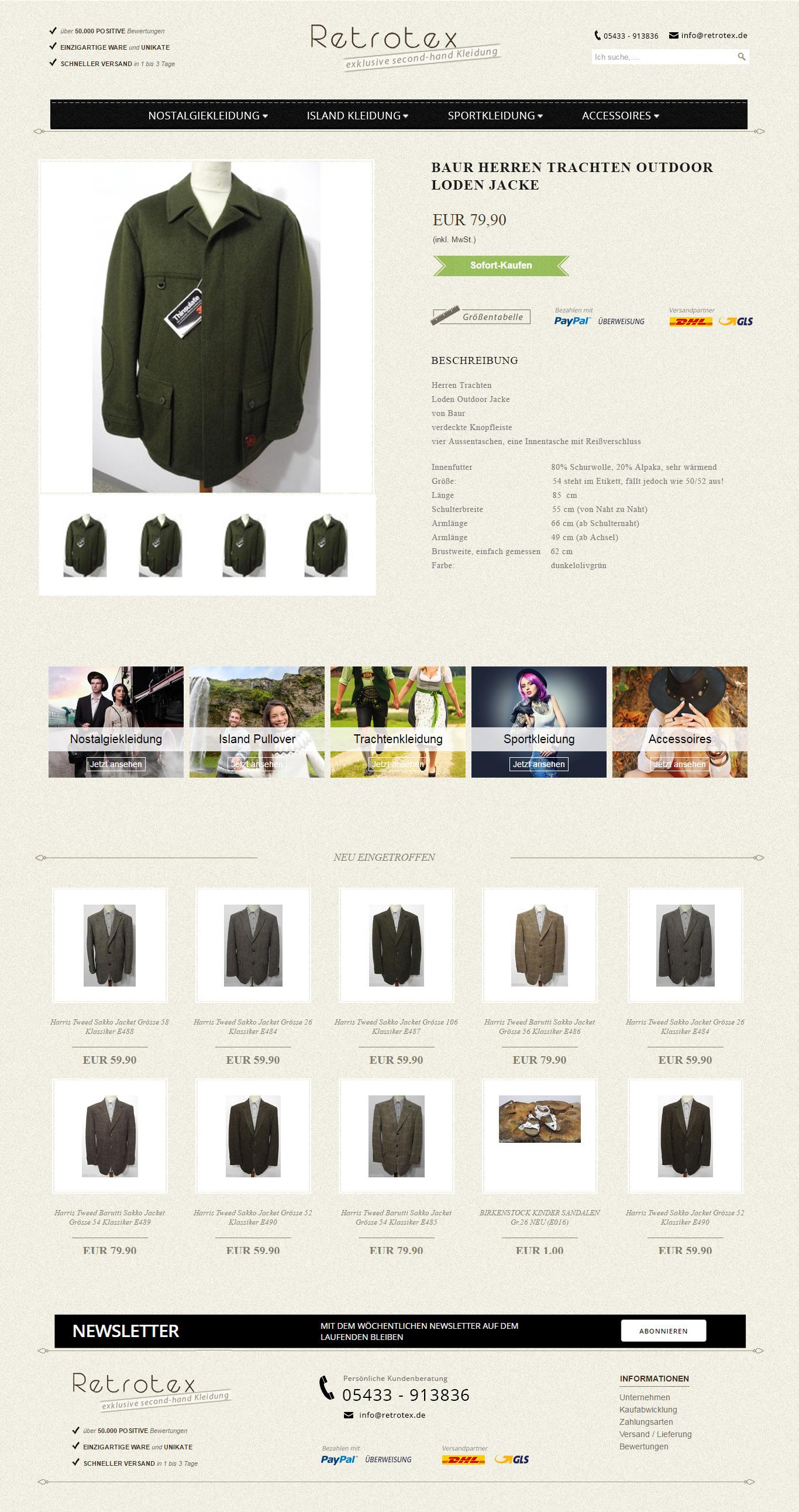 retrotex-ebay-shop-design