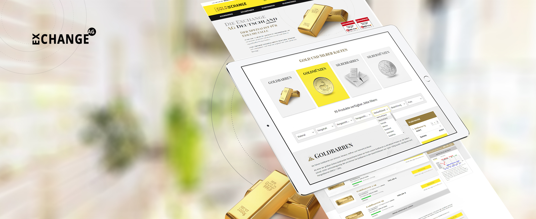 Gold Exchange Magento 2