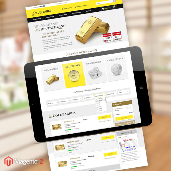 Gold-Exchange Magento 2