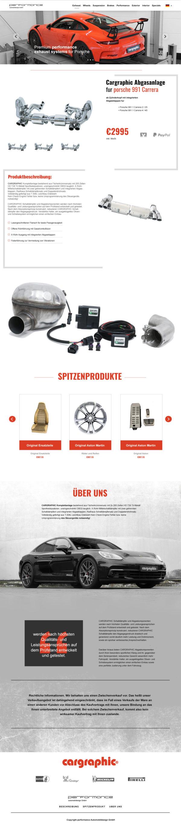 performance Automobildesign